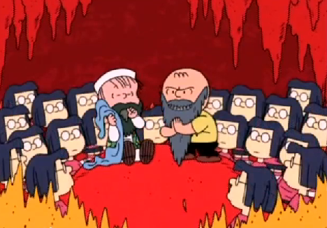 Have You Seen Denis Learys Parody Showing Charlie Brown Converting