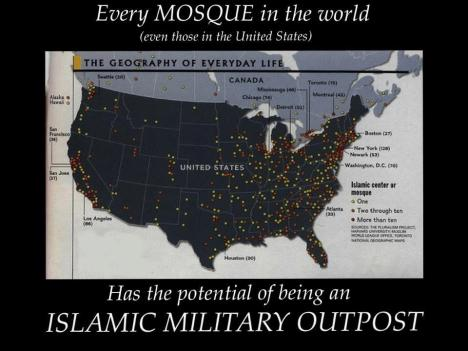 islamic outposts