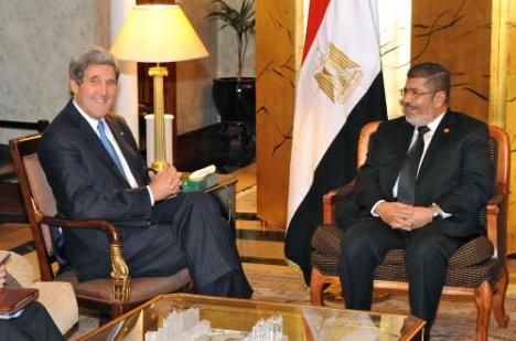 Secretary_Kerry_Meets_With_Egyptian_President_Morsy