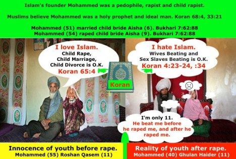 islamic pedophilia
