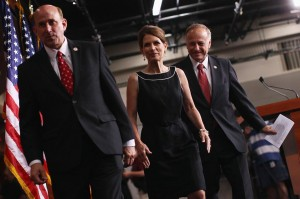 Reps. Louie Gohmert, R-Texas, Michele Bachmann, R-Minn., and Steve King, R-Iowa