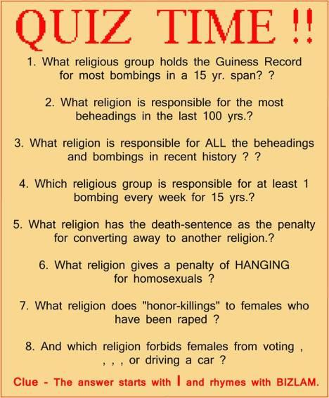 islam quiz