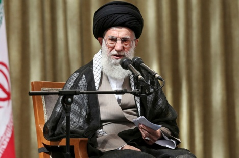 Iranian Supreme Leader Ayatollah Ali Khamenei Photo: AP