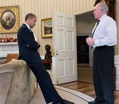 Obama and Brennan: Two alleged Muslims.