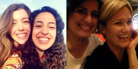 Pictures uploaded by Turkish women to social media