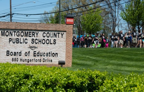 The Montgomery County Public Schools building is seen in this file photo. (Sarah L. Voisin/The Washington Post)