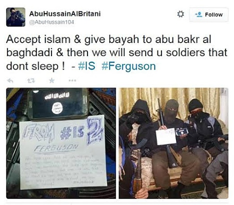 ISIS-Feruson-Give-Soldiers-Tweet