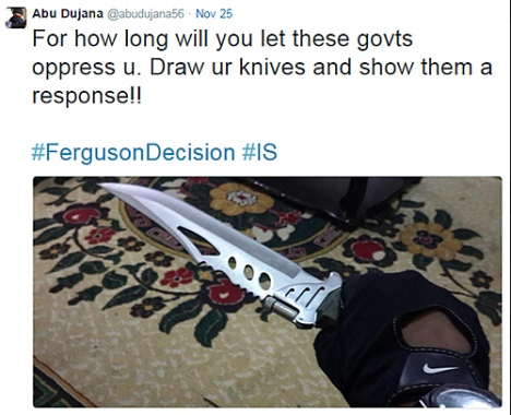 ISIS-Feruson-Knife-Tweet