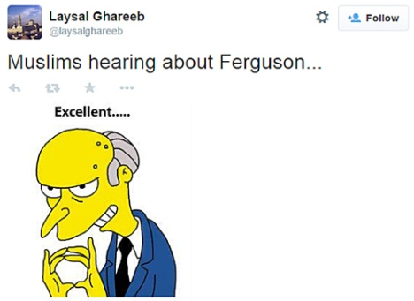 ISIS-Feruson-Simpsons-Tweet