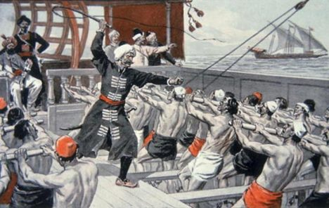 Galley Slaves of the Barbary Corsairs.