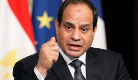 Egyptian President Abdel-Fattah al-Sissi. Photo by AP